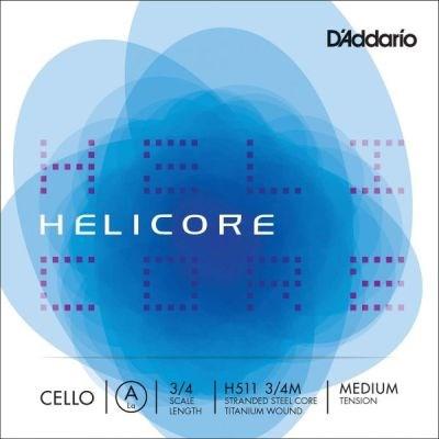 Helicore 3/4 Cello A, titanium/steel, medium