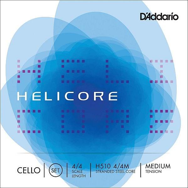 Helicore 4/4 Cello Set, medium
