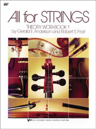 All For Strings, Theory Workbook 1 for violin