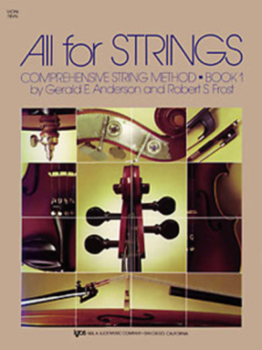All For Strings, Violin Book 1