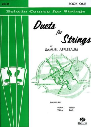 Duets for Strings, Violin Book 1, Applebaum