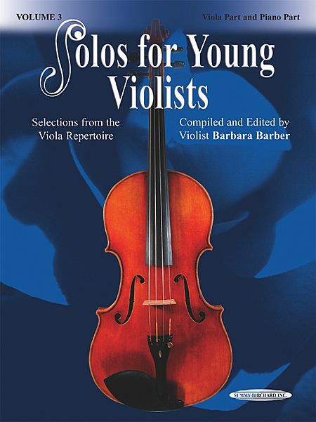 Barbara Barber: Solos for Young Violists, Volume 3