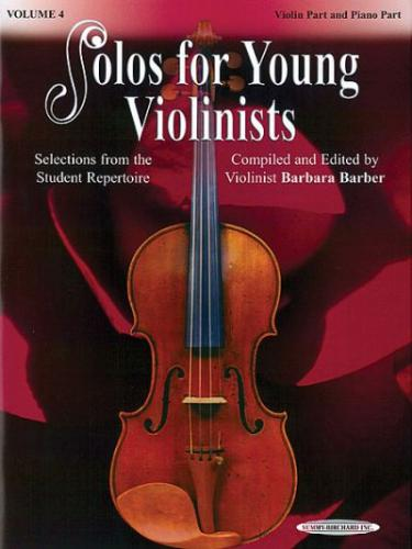 Barbara Barber: Solos for Young Violinists, Volume 4