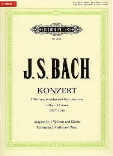 Bach: Concerto for 2 violins in D minor, BWV 1043