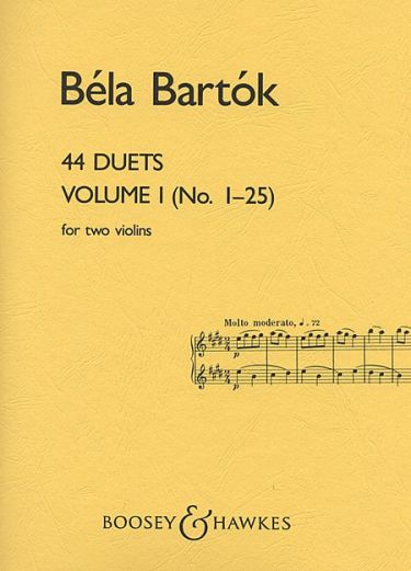 Bartok: 44 Duets for Two Violins, Vol. 1