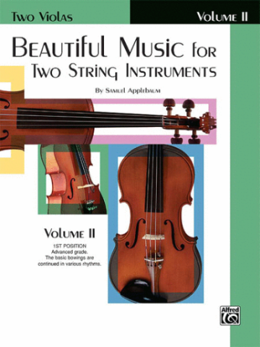 Beautiful Music for Two String Instruments, Viola Book 2