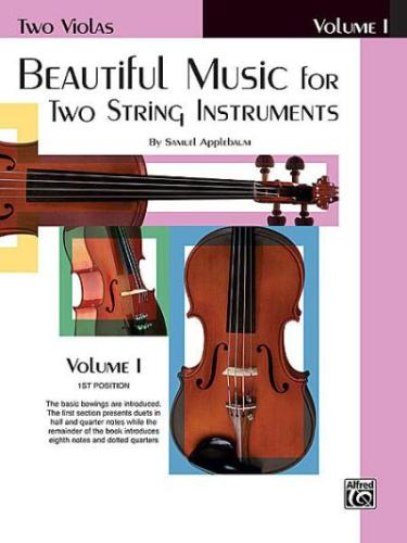 Beautiful Music for Two String Instruments, Viola book 1