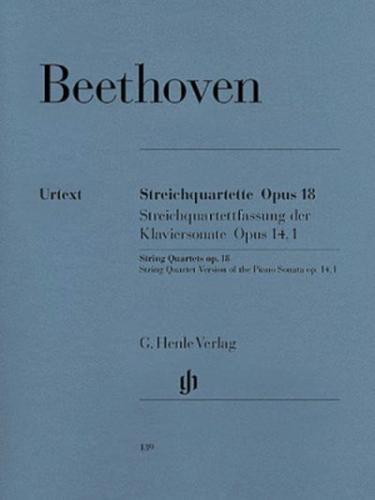 Beethoven: String Quartets Op. 18