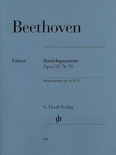 Beethoven: String Quartets, Op. 59, 74, 95
