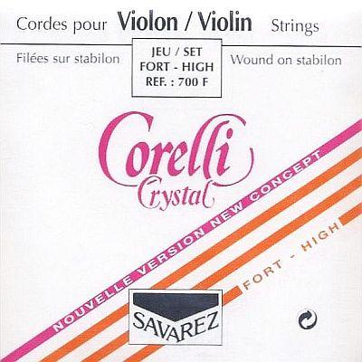 Crystal 4/4 Violin Set, strong