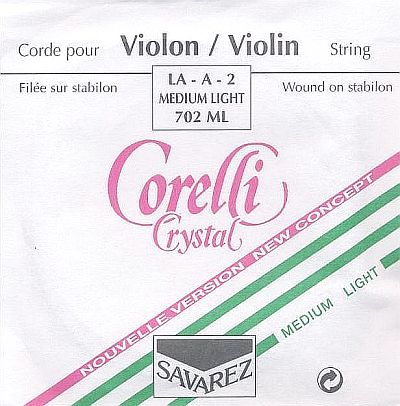 Crystal 4/4 Violin A, soft