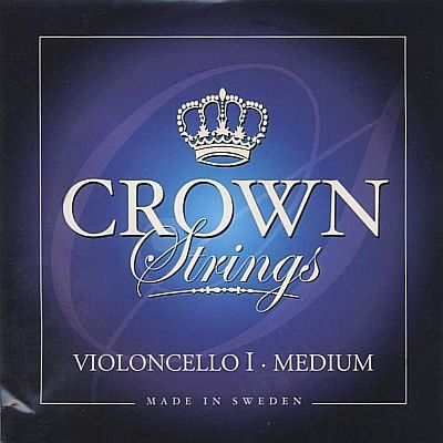 Crown 4/4 Cello A, steel, medium