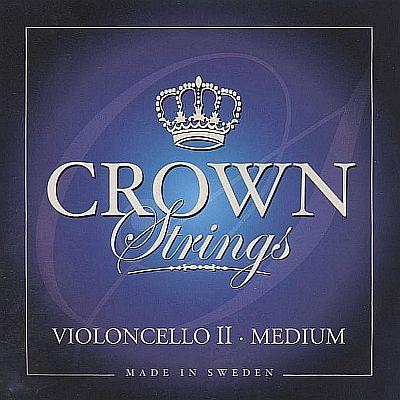 Crown 4/4 Cello D, steel, medium