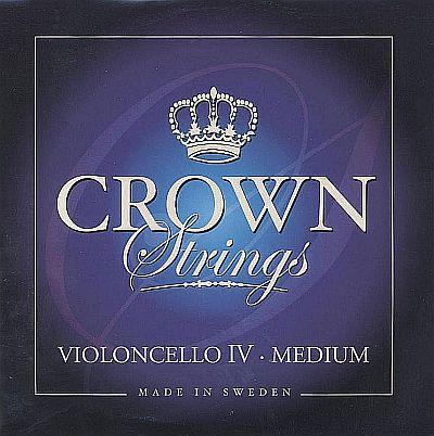 Crown 4/4 Cello C, steel, medium