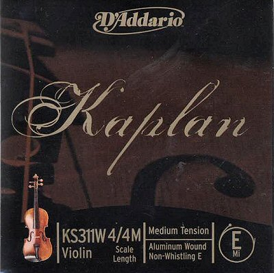 Kaplan Solutions Violin E, alum/steel, medium