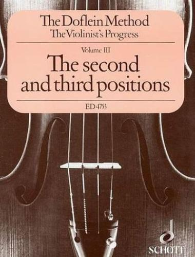 Doflein: Volume 3- The 2nd and 3rd Positions
