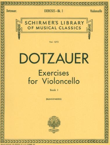 Dotzauer: Exercises for Violoncello, Book 1
