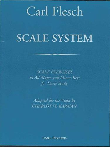 Flesch: Scale System for the Viola