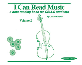 I Can Read Music: Cello, Volume 2