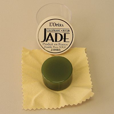 Jade rosin for bass