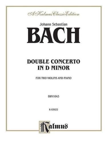 Bach: Concerto for 2 Violins in D minor