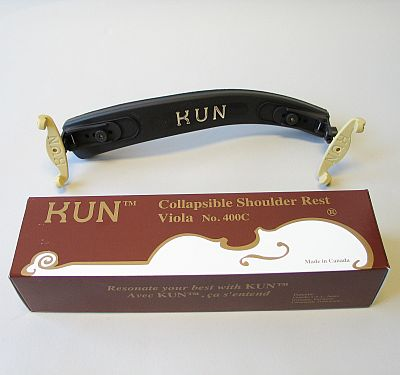 Kun Collapsible viola shoulder rest