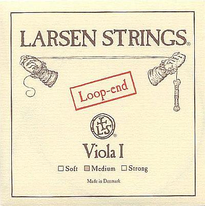 Larsen Viola A, loop end, medium