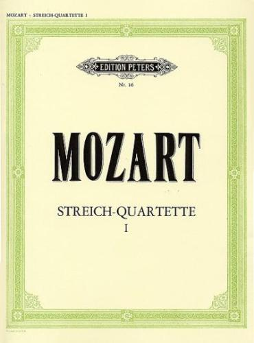 Mozart String Quartets, Volume 1