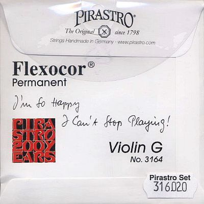 Flexocor-Permanent 4/4 Violin Set, mittel