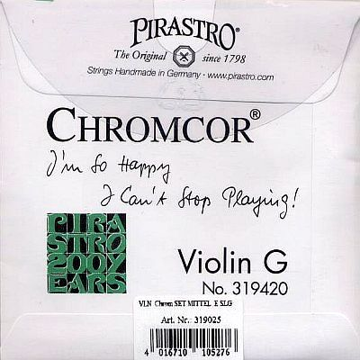 Chromcor 4/4 Violin Set, medium