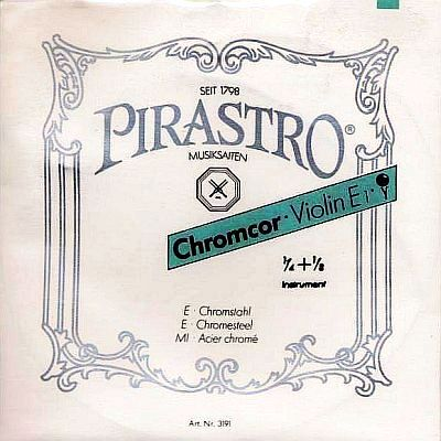Chromcor 1/4 - 1/8 Violin Set