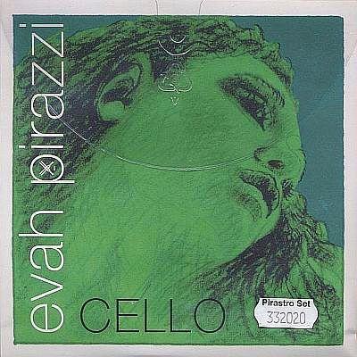 Evah Pirazzi Cello Set, Medium