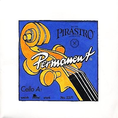 Permanent Cello A, Medium
