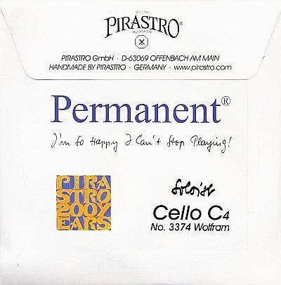 Permanent Soloist Cello C, Medium