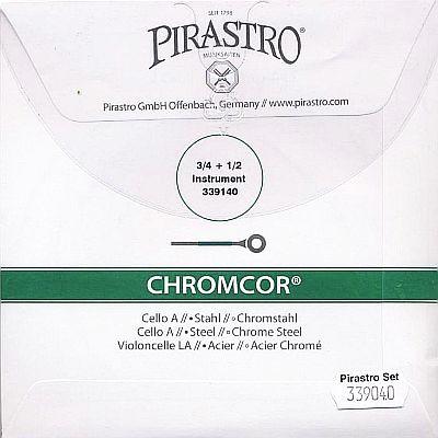 Chromcor 3/4-1/2 Cello Set, Medium