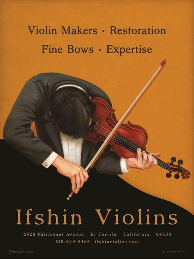 Ifshin Violins Poster