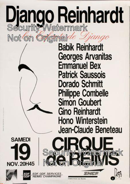 Django Reinhardt - Cirque de Reims