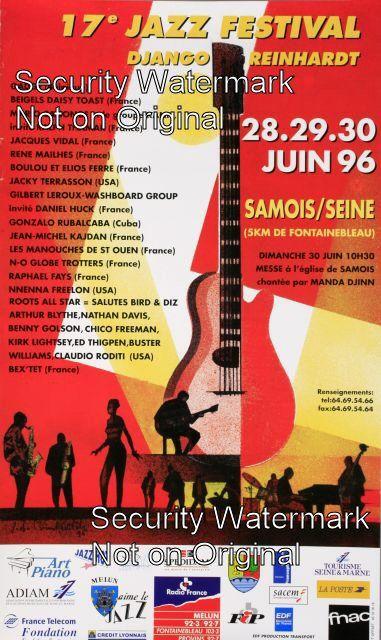 17th Jazz Festival - Django Reinhardt