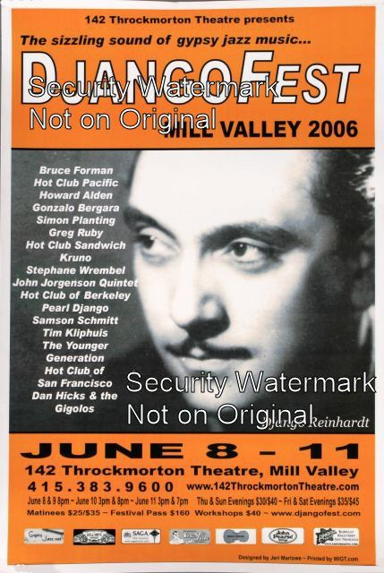 DjangoFest - Mill Valley 2006