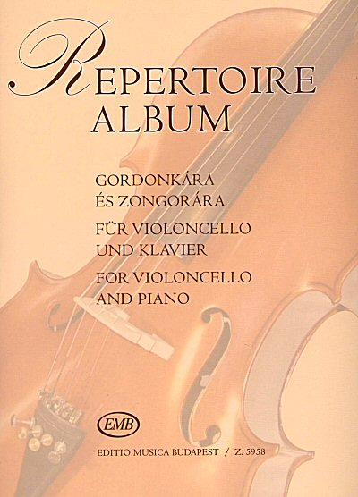Repertoire Album for cello and piano