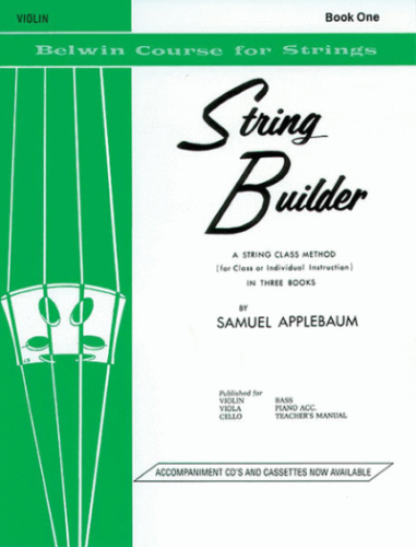String Builder For Violin, Book 1