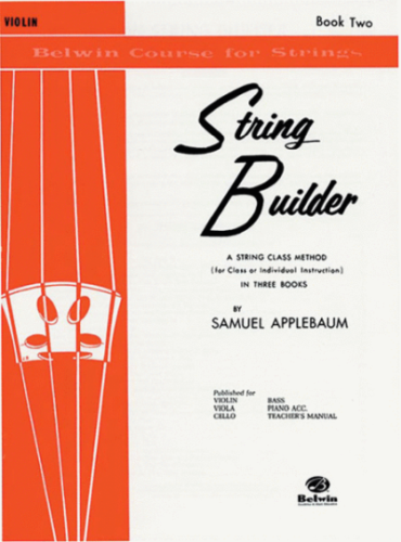 String Builder For Violin, Book 2
