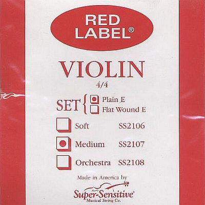 Supersensitive Red Label 4/4 Violin Set