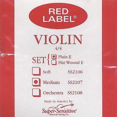 Supersensitive Red Label 4/4 Violin Set