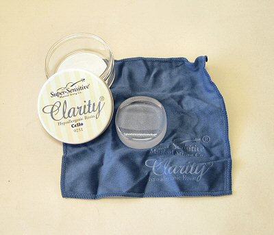 Clarity Rosin - for cello