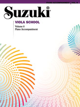 Suzuki Viola School Piano Accompaniments, Volume 8