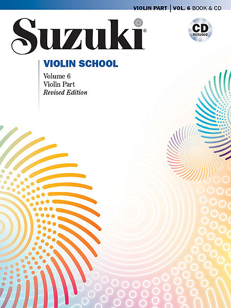 Suzuki Violin School, Volume 6 - with CD