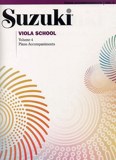 Suzuki Viola School Piano Accompaniments, Volume 4