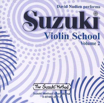 Suzuki Violin School, Volume 2 CD - David Nadien