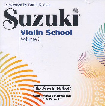 Suzuki Violin School, Volume 3 CD - David Nadien